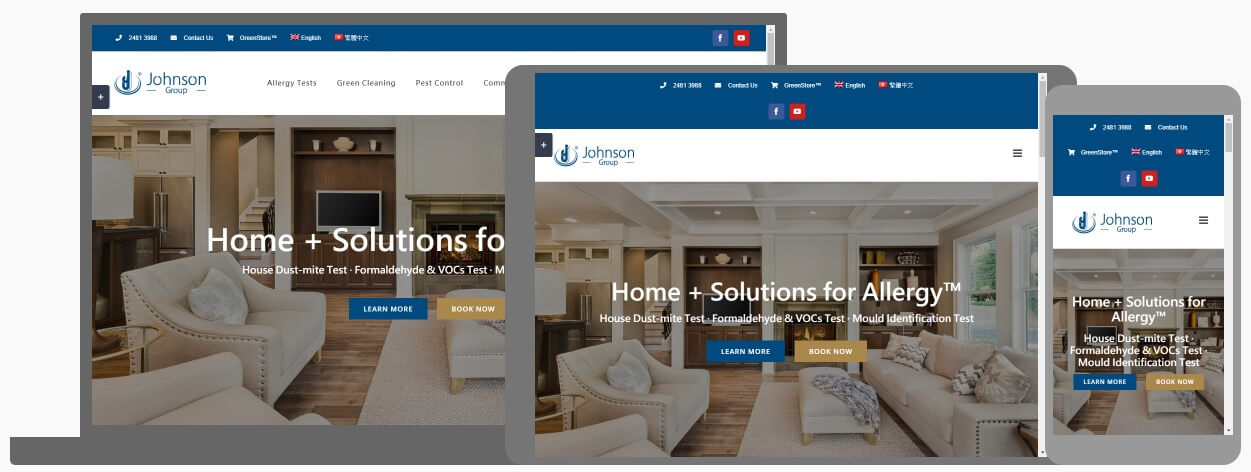 johnson-group-website